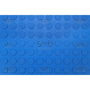 Piso Pastilhado Azul 3mm esp x 80cm larg x 10mts