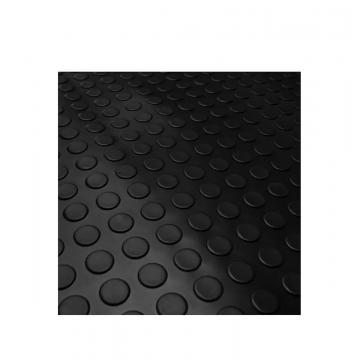 Piso Pastilhado Borracha Preto 3mm esp x 1,50 larg x 20mts