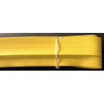 Testeira amarela 50mm x 30mm cantoneira escada 10mts