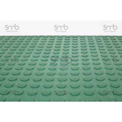 Piso Relevo Verde 3mm esp x 80cm larg - (MT)