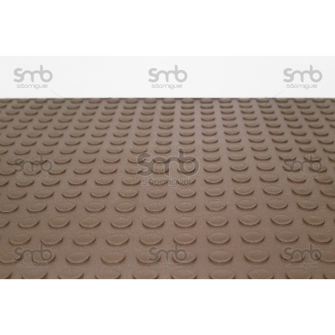 Piso Relevo Marrom 3mm esp x 80cm larg - (MT)