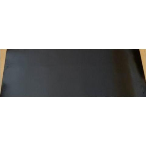 Lençol Borracha 2mm x 1mt x 10mts SBR sem lona preto